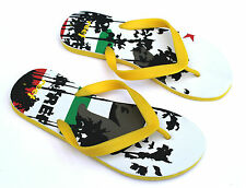 Reef Recife Tropical Flip Flops White Yellow Red & Green (Brand New) Sizes 5 & 7