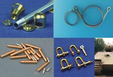 PANTHER PZ.KPFW V ACCESSORIES (BARREL, AMMO, TOW CABLE, SHACKLES, AERIAL) 1/35