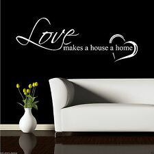 Home Love Family Wall Art Sticker Quote Decal Mural Transfer Graphic WSDL1