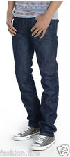 *Mens Boys Designers Conspiracy Skinny Fit Jeans Denim Chinos Rinse Sizes 30-38*
