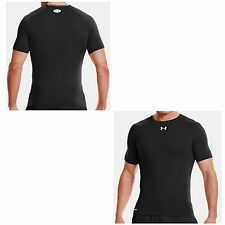 "Under Armour  Heatgear  Compression Shirt ""Sonic"", schwarz, kurzarm"