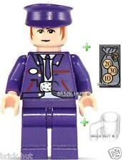LEGO HARRY POTTER - KNIGHT BUS DRIVER FIGURE + FREE EXTRA'S - BESTPRICE - NEW