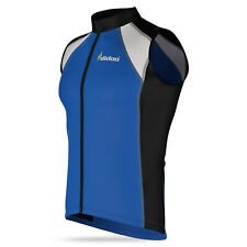 New mens cycling jersey sleeveless Biking Top Cycle racing sports outdoor shirt