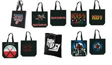 ROLLING STONES iron maiden KISS pink floyd THIN LIZZY the who  OFFICIAL TOTE BAG