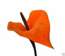 F001462 Contemporary Artificial Silk Calla Velvet Lily Flowers Packed as 1
