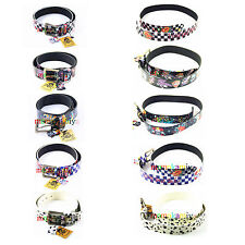 LIVING DEAD SOULS PUNK METAL TATTOO PU BELT MIX DESIGN  BOY GIRL SALE CLEARANCE