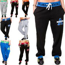 Damen Hose Sporthose Fitnesshose Jogginghose Sweathose Sweatpants Collage