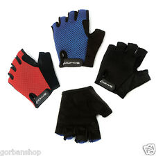 Half Finger Antiskid Cycling Cycle Bike Bicycle Ride Mountain Gloves Outdoor