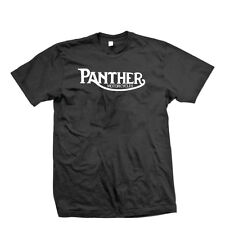 Retro Panther Motorcycles Vintage Biker T Shirt,Indian,BSA,Norton
