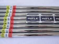 Rifle Steel Flighted Shafts .355 & .370 Flexes from 4.5 - 7.0 Pre Spined Aligned