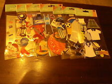 Jolees Boutique  Large size pack  sports   themed  stickers