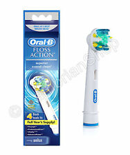 Genuine Braun Oral B Floss Action Replacement Tooth Brush Heads Sealed 1 2 3 4 8