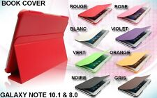 HOUSSE COQUE ETUI BOOK COVER TABLETTE  GALAXY NOTE 8.0 (N5100) & 10.1 (P600)