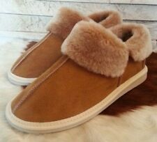 Yeti&Sons New Ladies Womens Sheepskin Boot Slippers 100% Real Fur Wool ALL SIZES