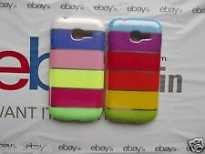 Brand New Rainbow Colors Soft Back Case Cover Pouch for Samsung LG iPhone