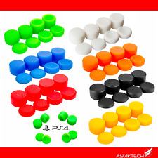 MANDO PS4 PS3 PLAYSTATION 4 THUMBSTICK STICK GRIPS COVER GOMA FUNDA PACK 8 COLOR