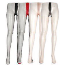 Women Dancing Girl Sexy Stiletto Heel Seamed Tights One Size Black Red Natural