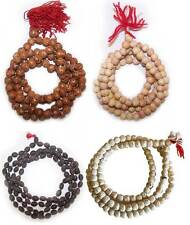 Genuine 108 Bead Tibetan Wood Mala Buddhist Prayer Beads Rosary: Various