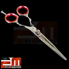 Professional Hairdressing Scissors Shears WHITE Hair Cutting Salon Razor Sharp