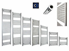 650mm Wide Bathroom Heated Towel Rail Radiator Rad Chrome Straight Bathroom