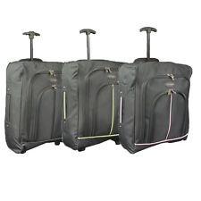 EASYJET RYANAIR CABIN APPROVED TRAVEL TROLLEY LUGGAGE SUITCASE FLIGHT BAG 2 SIZE