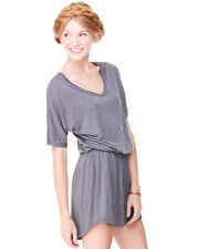 BELLA CANVAS BE115  Women's Flowy V-Neck Dress Size S-XL