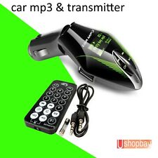 FM Radio Transmitter Car MP3 Player SD Card USB Wireless Modulator LCD Remote