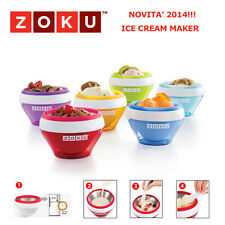 ZOKU ICE CREAM MAKER GELATIERA CREA GELATI IN 10 MINUTI NOVITA' 2014 MADE IN USA