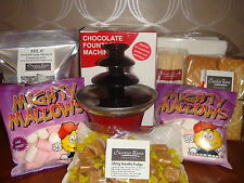 Chocolate fountain Mini Chocolate fountain ideal dinner party small gatherings