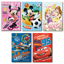 ♥ DISNEY FLEECEDECKE KUSCHELDECKE 100X150CM♥CARS/PRINCESS/MINNIE/MICKEY MOUSE