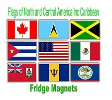 Flag of North and Central America Fridge Magnets FREE POSTAGE