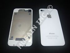 APPLE IPHONE 4 BACK GLASS PLATE OR PANEL/DOOR A+++ Quality ( BLACK / WHITE )
