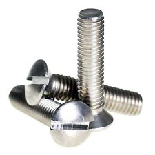 M4 ( 4mm ) A2 Stainless Steel Raised Slotted Countersunk Machine Screws DIN 964