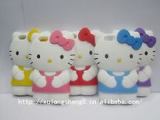 iPhone 5 - 3D Cute Hello Kitty Soft Silicone Back Case Cover Skin