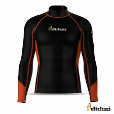 New Mens Thermal Compression Base Layer Shirt Full Sleeve Top Lightweight