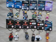 NEW LEGO MINIFIG KEYRINGS STAR WARS NINJAGO MONSTER FIGHTERS CHOOSE WHICH U WANT