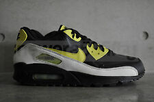 "Nike Air Max 90 Premium ""Glow in the Dark Pack"" - Black/Voltage Yellow"