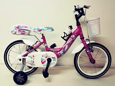 "CITY BIKE  Bambina 14"" con cesto e bauletto"