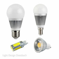 LED SPOT - BULB - 3 -12Watt 280-1200 Lumen GU10 MR16 E14 E27  warm & kaltweiß
