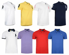 New Mens Polo Ralph Lauren Custom Fit Cotton Short Sleeve Rugby Jersey