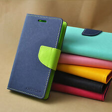 Mercury Goospery Diary Wallet Flip Case Back Cover for Sony Xperia C S39H