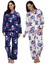 LN660 Ladies floral print pyjamas by TOM FRANKS     2 colours available £12.99