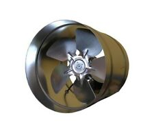 """Inline Industrial Extractor Fan 200mm 8"""" 250mm 10'' 315mm 12"""" Duct Commercial WK"""