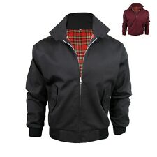 Veste style harrington interieur ecossais xl noir ebay for Veste interieur ecossais