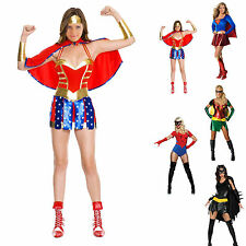 costume deguisement Tenue superman batman spiderman robin wonderwoman femme