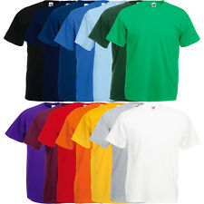 FRUIT OF THE LOOM T-SHIRT VALUEWEIGHT HERREN SHIRTS - S M L XL XXL 3XL 4XL 5XL