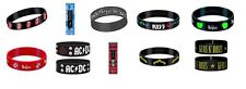 ROLLING STONES pink floyd KISS the beatles AC/DC guns n roses RUBBER WRISTBAND