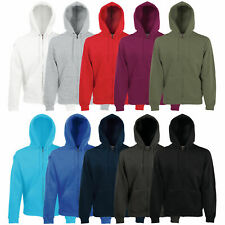 FRUIT OF THE LOOM KAPUZENJACKE HOODIE KAPUZENPULLOVER SWEATSHIRT PULLOVER S-XXL