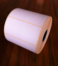 76x36mm Direct Thermal Permanent Labels, 25mm core, 1000 labels *FREE P+P*