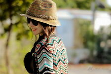 Modo Vivendi | Summer Rainbow Hat for Women | Beach Hat Straw Hat for Women